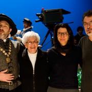 Sergio Lulkin, Eva Sopher, Nora Goulart e Jorge Furtado (Foto: Fábio Rebelo)
